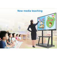 "Quality 98"" Interactive Touch Display / Big Touch Screen Monitor For Classroom Education wholesale"
