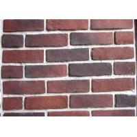 Quality Anti Water Outdoor Fake Brick Wall Covering , Painting Exterior Brick Veneer wholesale