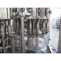 Multifunction 3 In 1 Filling Machine For Mineral / Pure / Non-Carbonated / Distilled Water