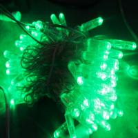 Best Christmas light LED light chian Green Yellow Red for tree in park decoration wholesale