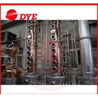 Best 300 Gallon Alcohol Distillation Column With Stainless Steel 304 Still Pot wholesale