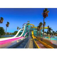 Best Combined Fast Tall Water Slides Water Sport Pool Games Toys Open Tube wholesale