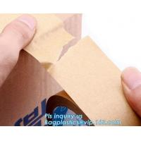 Best Water-activated Reinforce Kraft Gummed Paper Tape for Sealing & Strapping,Self adhesive kraft paper gummed tape bagease wholesale