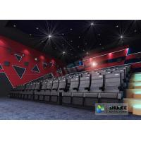 Cheap Customize 4D Cinema System Pneumatic / Hydraulic / Electric Motion Chairs With for sale