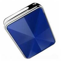 Best Blue Diamond Mini GPS Tracker / Smallest Gps Tracking Device Fasion To Be As Decoration wholesale