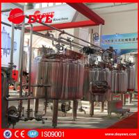 Best CE Approved Commercial Beer Brewing Equipment Electric / Steam / Directing Hearting wholesale