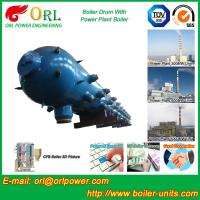 Quality New steam boiler 50 ton stainless steel petroleum industry boiler spare part mud drum wholesale
