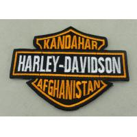 Best Customized Applique Sequin Embroidery Patches / Harley Davidson Badges wholesale