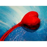 "Best heart oil painting on canvas 40"" * 50"" wholesale"