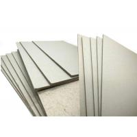 Best ONP / OCC Material 600gsm / 1mm Grey Board Gray Cardboard Paper Sheets Hard Stiffness wholesale