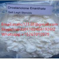 China Strong Effect Raw Steroid Powder , Drostanolone Enanthate Steroid Purity 99.9% on sale