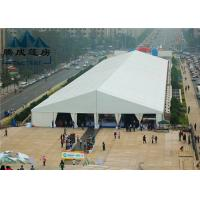 Best 20M Modern Style Trade Show Tents Wooden Floor Inside For Exhibition Event wholesale