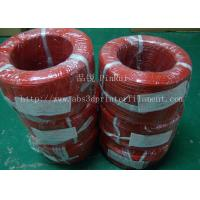 Best Large Diameter Rigid PP Plastic Hard Tubes Red / Yellow For Electrical Wire wholesale