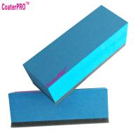 Best 9h ceramic coating applicator nano coating agent applicator pad nano coat sponge super hydrophobic coating-10pcs wholesale