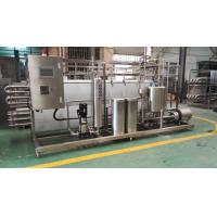 Cheap 20 t / h Food Sterilization Equipment High Viscosity Products UHT Sterilizer for sale