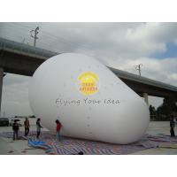 Best Customized White Giant Advertising Balloons with 170mm tether points for Opening event wholesale