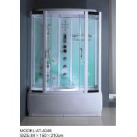 Best 84 X 150 X 210 / cm square shower cabin , film back panel one wall shower enclosures wholesale