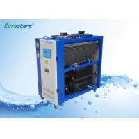 Best 8 HP Double Condenser Portable Water Chiller Units Water Cooled Ac Unit 380V wholesale