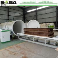 China Fast Wood Drying Machine High Frequency And Vacuum Dryer Timber Machine SAGA on sale