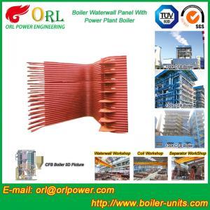 Best Condensing Gas Boiler Water Wall Panels , Boiler Membrane Wall Tube wholesale