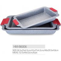 Best Carbon steel High strength non stick marble coating bread pan cookware bakeware wholesale