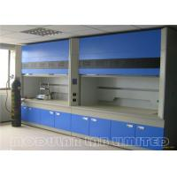 Best Bench Top Fume Hood Cupboard All Steel Structure with Ducted Exhaust System wholesale