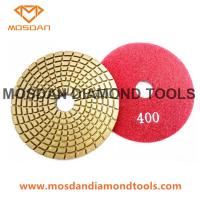 Best 4'' Flexible Wet Polishing Pads for Granite Concrete Marble Tiles wholesale