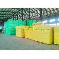 China Yellow X700 Extruded Polystyrene Foam Sheets for Highspeed Railway on sale