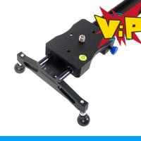 Cheap 80CM DSLR Camera Slider Glider Dolly Video Stabilization System for 5DII 5DIII for sale