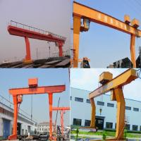Best 35 meters MDGS type single-girder gantry crane, hook gantry crane 20 tons 32 tons wholesale