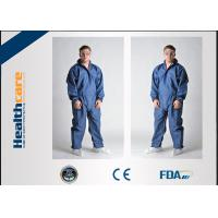 China Anti Static Disposable Medical Protective Clothing , Disposable Chemotherapy Gowns on sale
