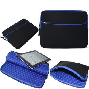 Best Blue Shockproof Laptop Sleeve , Neoprene Macbook Pro 13 Inch Sleeve wholesale