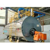China 2T Natural Gas Steam Boiler Plc Control System Work Efficiently Safety on sale