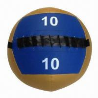 Buy cheap Wall Ball, Measures 35 or 23cm, Made of Regular PVC Space Leather PP and Sand from wholesalers