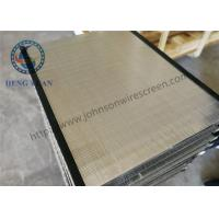 Buy cheap Wire Wrap Wedge Wire Screen Mesh Grate Stainless Steel 304 for Coal Washer from wholesalers