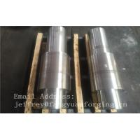 Best Open Die Forged Alloy Steel Carbon Steel Shaft / Forging Products wholesale