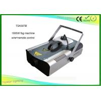 China CE RoHs Party Fog Smoke Machine 1500w Foggy Effect Making With Smoke Fluid on sale