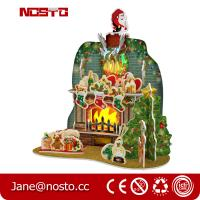 Best DIY 3D Puzzle Christmas Toy with RGB lights Giftware wholesale