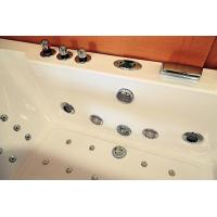 """Cheap Large 70"""" Corner Whirlpool Bathtub 2 Person Jetted Tub Built - In Heater for sale"""