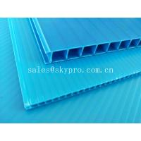 Best Ultraviolet - Proof Clear Plastic Hollow Board Corrugated Environmentally Friendly wholesale