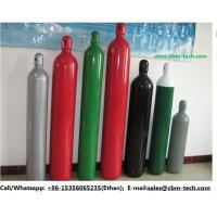 China 40L Steel Oxygen Cylinders for O2 Gas Plants on sale