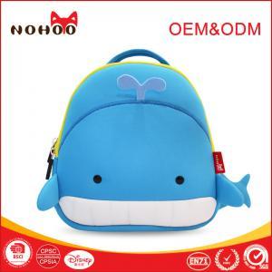 Best Cute Cartoon Style Kids Travel Backpack , Neoprene Material Kids Customized School Backpacks wholesale