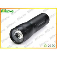Best 3 Watt Black LED Flash Lights Rechargeable High Powered Flashlight wholesale