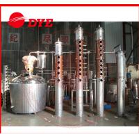 Best Rum / Gin Red Copper Distillation Column For Fruitful Flavor / Spices wholesale