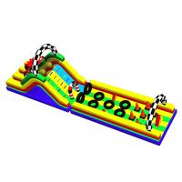 Best Racing Car Inflatable Obstacle Course Blow Up Water Obstacle Course wholesale