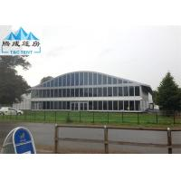 Best Eco-friendly Outdoor Party Tents , Aluminum Frame 20 X 40M Water Resistance wholesale