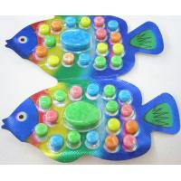 Best 2.8g Fish shape compressed candy / multi friut flavor colorful sweet children's favorite wholesale