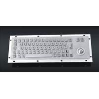 Buy cheap sell metal keyboard with trackball--Vandal proof and Waterproof from wholesalers