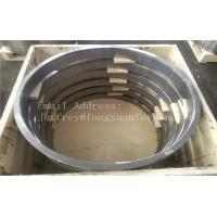 Best 10CrMo9-10 1.7380 DIN 17243 Alloy Steel Forged Rings Quenced And Tempered Heat Treatment  Proof Machined wholesale