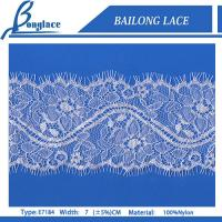 China Eyelash Laces/Lace Trim for lace wedding dresses-E7184 on sale